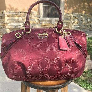 Coach maroon bag